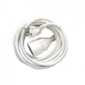 CHACON Prolongateur HO5VVF 3 x 1,5 mm²- 5 m - Blanc