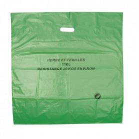 COGEX Lot de 3 sacs a déchets végétaux en polyéthylene 110L