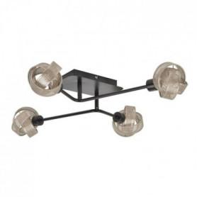 COREP Plafonnier 4 lumieres en métal Ring - H 14 cm - 33 W