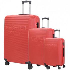 DANIEL HECHTER Set de 3 Valises Trolley DHVDEAUVILLE 50-60-70 cm - Rouge