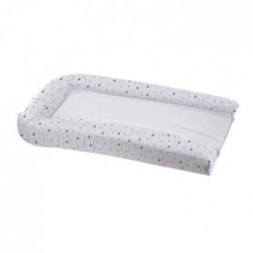 DOMIVA Matelas langer PVC + 2 Éponges amovibles - Blanc