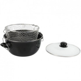 Crealys Friteuse - 505629 - Ø26Cm Emaille Induction