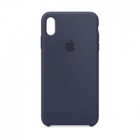 Coque en silicone pour iPhoneXSMax - Bleu nuit