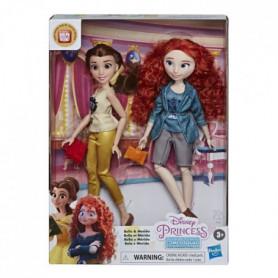 Disney Princesses - poupées tendances Comfy Squad Belle et Merida