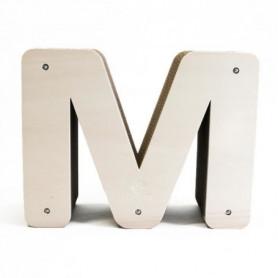 HOMYCAT Griffoir en forme de M - l59 x H42 x P19 cm