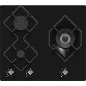 HUDSON HTG 3 BVN - Table de cuisson gaz - 3 foyers - L 60 cm