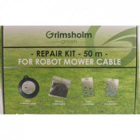 JARDIN PRATIC Kit réparation avec câble d'installation - 0,93 mm² x 50m