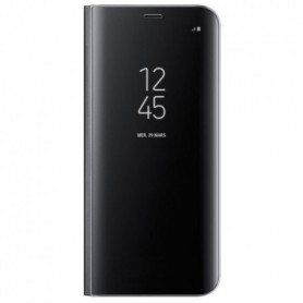 Samsung Clear View Cover Stand S8+ Noir