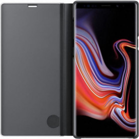 Samsung Clear View Cover Stand Note9 - Noir