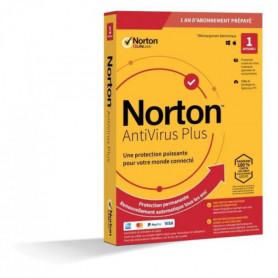 NORTON Antivirus Plus 2 Go FR 1 Utilisateur 1 Appareil - 12 Mo