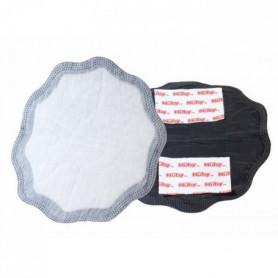 NUBY Compresses d'allaitement - 28 pièces noirs et 2 pièces blancs
