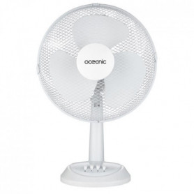OCEANIC Ventilateur de table - 35 watts - Diametre 30 cm