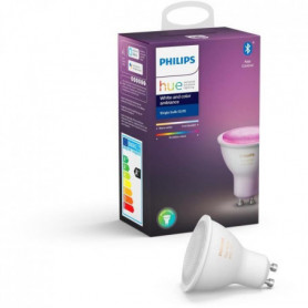 PHILIPS HUE Ampoule White & Color Ambiance - 6,5 W - GU10