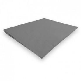 SOLEIL d'OCRE Drap plat Camille - 260 x 300 - Gris