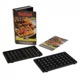 TEFAL Accessoires XA800412 Lot de 2 plaques Gaufres