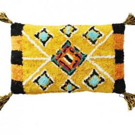 Coussin Berbere Color - 30 x 50 cm - Jaune