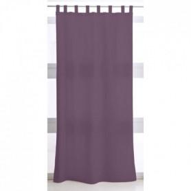 Rideau a Pattes 140X260 uni violet