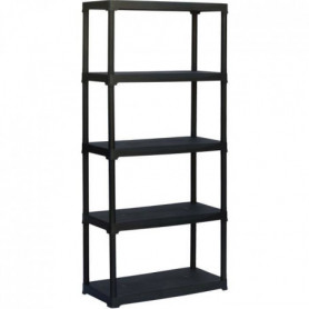 TOOD  Etagere 5 tablettes  dimensions h180x80x39