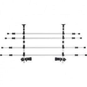 TRIXIE Grille de séparation voiture - L 105-172 cm - H 46-60 cm