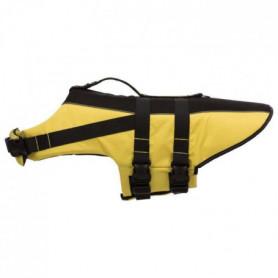 TRIXIE Gilet de sauvetage - XL: 65 cm - Jaune et noir