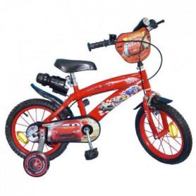 CARS Vélo Enfant - 14 -4/7 ans- Rouge