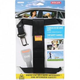 ZOLUX Harnais de sécurité avec attache pour véhicule L
