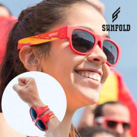OUTLET Lunettes de Soleil Enroulables Sunfold Mondial Spain Red