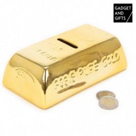 Tirelire Céramique Lingot d'Or