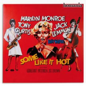 Affiche de Ciné Marilyn Monroe Some Like It Hot