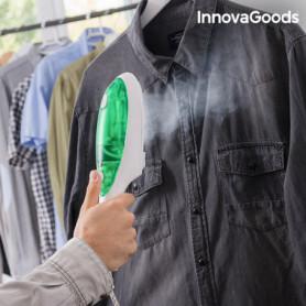 Fer à Vapeur Vertical InnovaGoods 1000W Blanc Vert