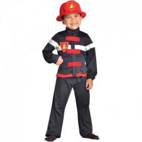 CESAR - F566 - Déguisement pompier - 5 / 7 ans