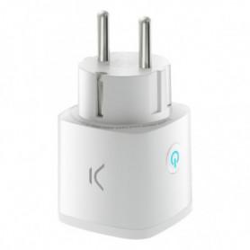 Prise Intelligente KSIX Smart Energy Mini WIFI 250V Blanc
