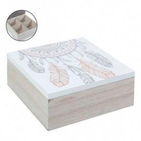 Boîte Décorative (15 x 15 x 6 cm)