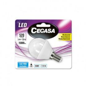 Ampoule LED Sphérique Cegasa E14 5,5 W A+