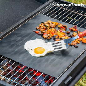 Tapis de Cuisson pour Four et Barbecue InnovaGoods (Pack de 2)