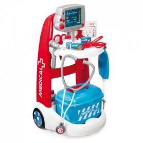 SMOBY Chariot Médical Electronique + Accessoires