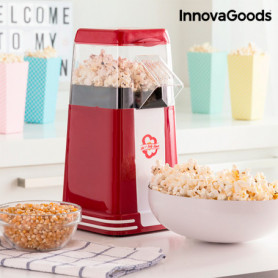 Machine à Pop-Corn Hot & Salty Times InnovaGoods 1200W Rouge