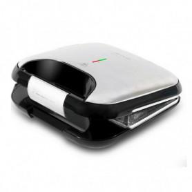 Machine à sandwich Cecotec Rock'nToast Fifty-Fifty 750W Acier inoxydable