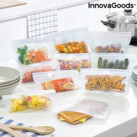 Ensemble de sacs alimentaires réutilisables Freco 10 Pièce