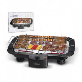 Plaque chauffantes grill Kiwi KG-5801 2000W (38 x 22 cm) Noir