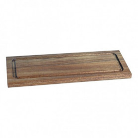 Table de Cuisine Acacia Rectangulaire (33 X 13 x 1,5 cm)