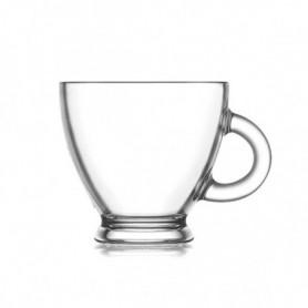 Ensemble de tasses à café LAV Roma 95 ml Verre (6 Pcs)
