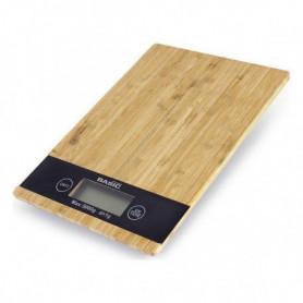 balance de cuisine numérique Basic Home 5 k LCD Bambou