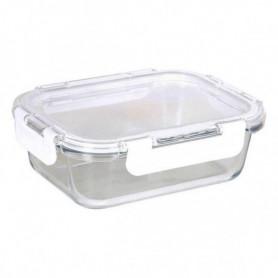 Boîte à lunch hermétique Quttin Rectangulaire (21,3 x 16,2 x 7 cm)