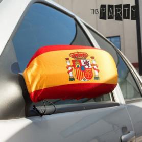 Housses Rétroviseurs Drapeau Espagne (pack de 2)