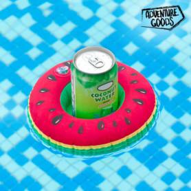 Support Gonflable pour Canettes Pastèque Adventure Goods