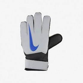 Gants de Gardien de But pour Enfants Nike GK Match JR FA18 Blanc Bleu