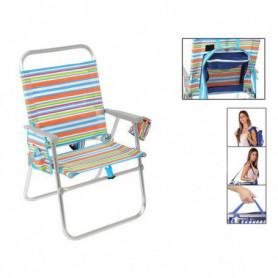 Chaise Pliante 118123 Multicouleur
