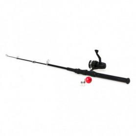 Canne à pêche 117958 Noir (150 Cm)