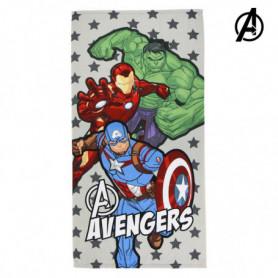 Serviette de plage The Avengers 75683 Microfibre Gris